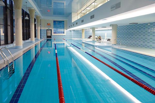 фитнес хаус рыбацкое бассейн фото