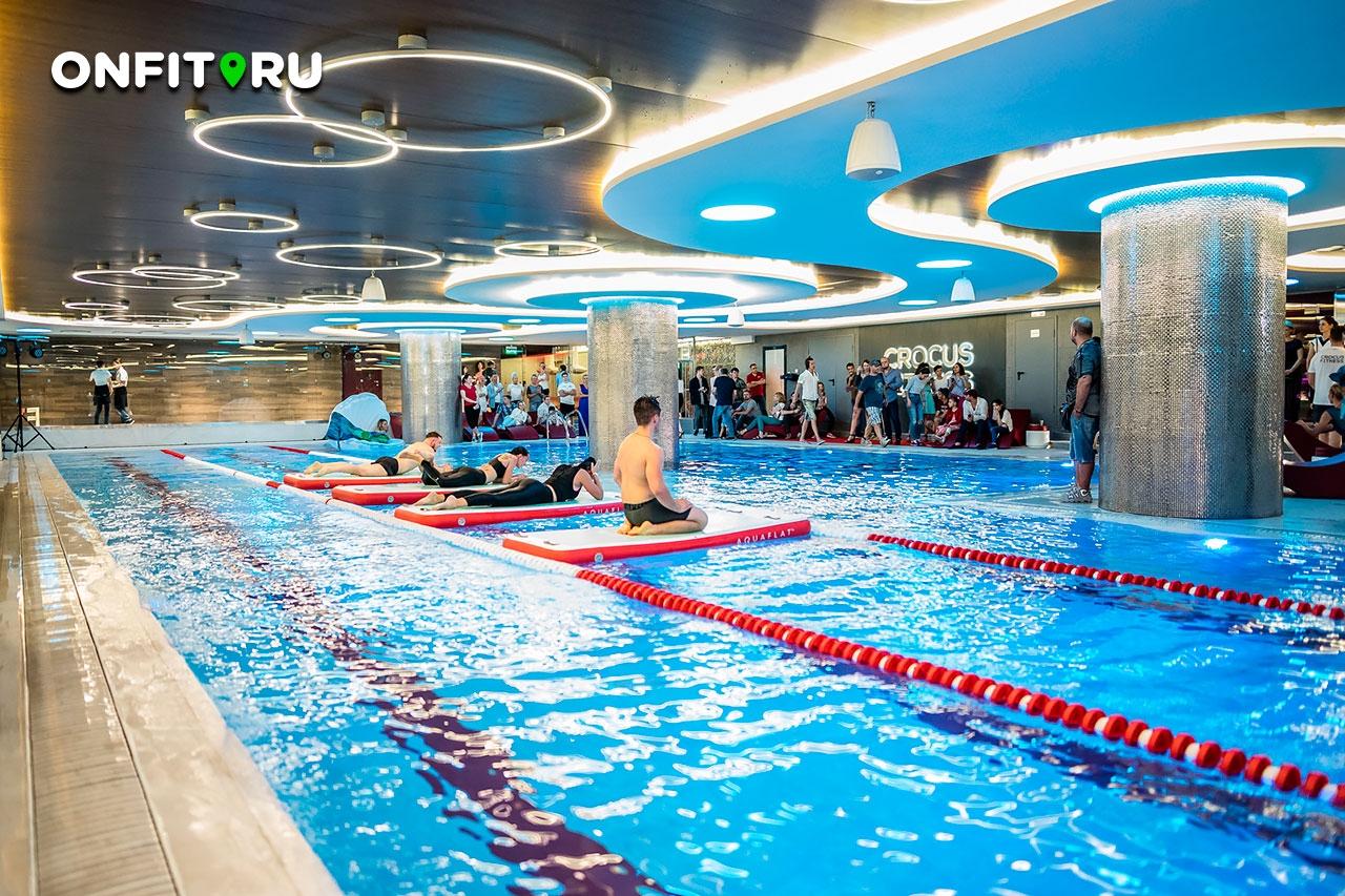 фитнес клубы москвы с бассейном и цены